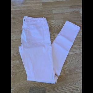 Light pink jean skinny pants (size 5)
